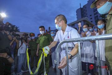 Thêm 3 ca dương tính với SARS- CoV- 2 ở Thường Tín, Đông Anh