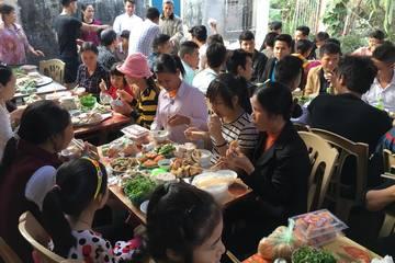 Mô hình kiểm soát bữa cỗ đông người ở Hà Nội có nhiều hiệu quả