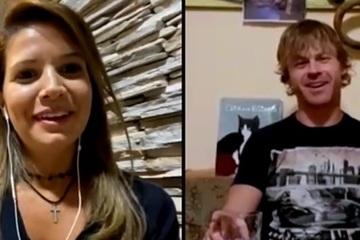 Cặp đôi Brazil - Đức kết hôn trực tuyến chỉ sau 20 ngày yêu nhau qua mạng