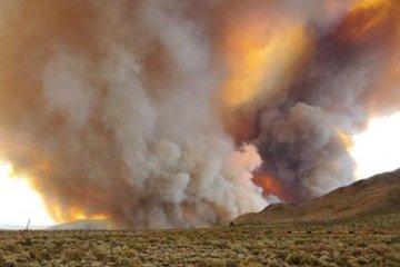 Kinh hoàng tài xế 'liều mạng' lái xe trong biển lửa ở California