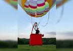 Kỷ lục thế giới: Người điều khiển khinh khí cầu nhỏ tuổi nhất