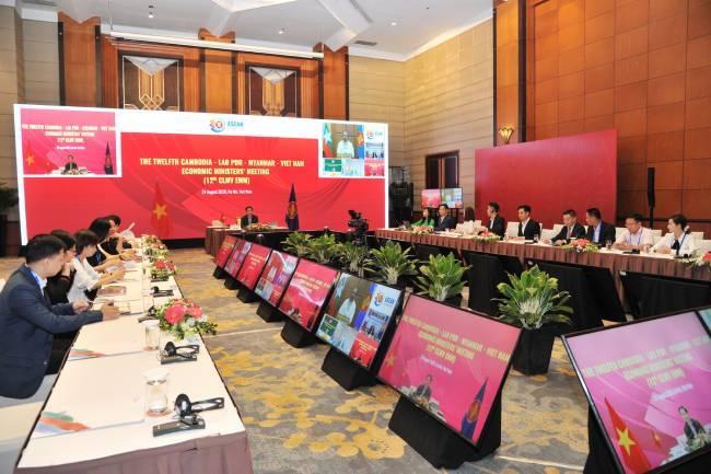 Bộ trưởng Kinh tế các nước CLMV chia sẻ kinh nghiệm ứng phó, hồi phục kinh tế