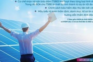 VietinBank đồng hành cùng doanh nghiệp trong các dự án điện mặt trời mái nhà
