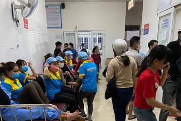 Hơn 90 công nhân ở Đắk Lắk nhập viện, nghi ngộ độc thực phẩm