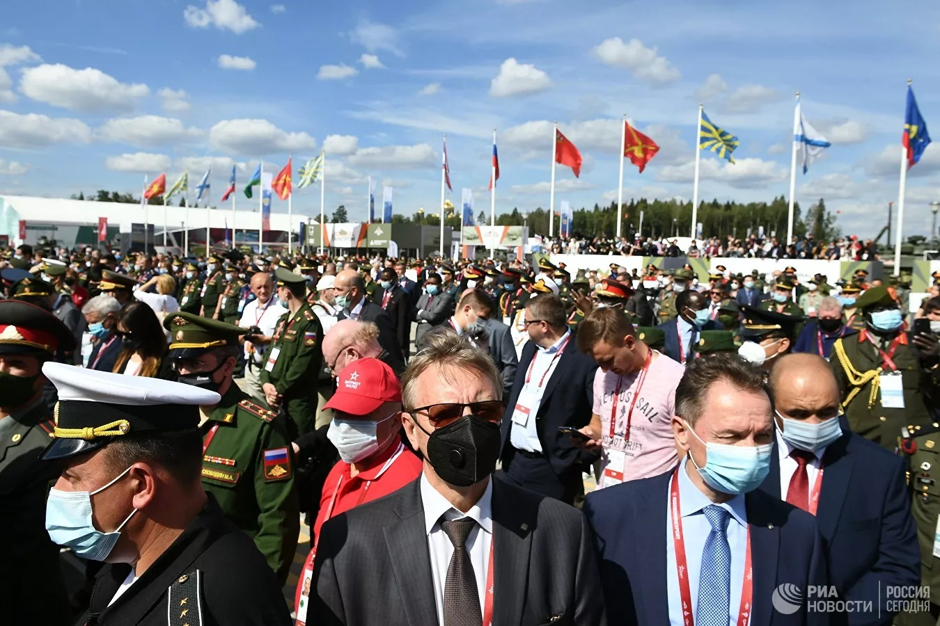 Những hình ảnh mới nhất về Diễn đàn kỹ thuật quân sự quốc tế 2020