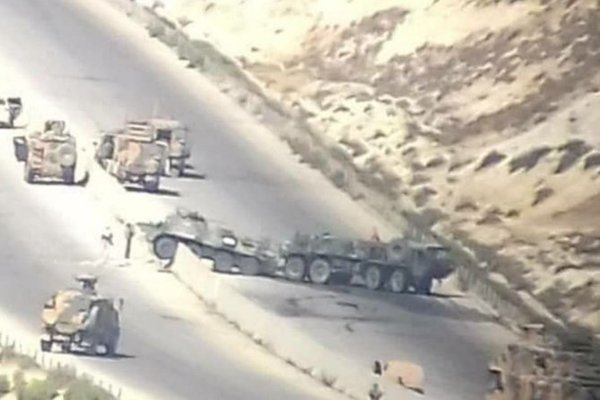 Tình hình Syria: Quân đội Nga bị tấn công, Syria bắn hạ UAV Thổ