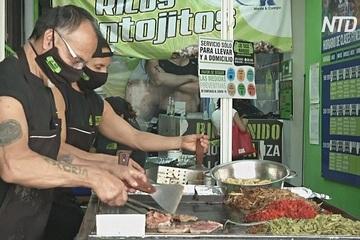 Các trung tâm thể dục Mexico biến thành quán ăn chống chọi với Covid-19