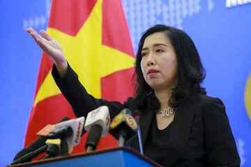 Việt Nam yêu cầu Trung Quốc hủy bỏ tập trận ở quần đảo Hoàng Sa, không tái diễn vi phạm