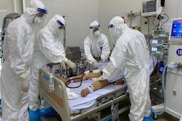 Đắk Lắk: Một bệnh nhân mắc Covid-19 bị suy hô hấp, phải thở oxy