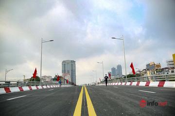 Thông xe cầu vượt kết nối 3 quận Cầu Giấy, Tây Hồ và Bắc Từ Liêm