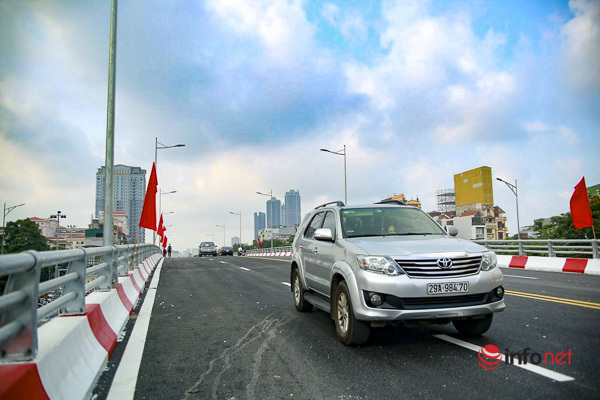 thông xe,cầu vượt lớn nhất Hà Nội,giao thông Hà Nội
