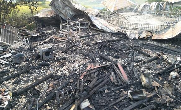 Cháy nhà nghỉ dưỡng ở Sa Pa, 1 người tử vong