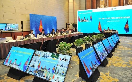 Hội nghị tham vấn trực tuyến về hợp tác kinh tế ASEAN+3 thống nhất nhiều nội dung quan trọng