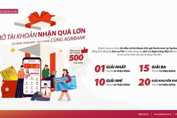 """Agribank triển khai """"chùm"""" chương trình tri ân, ưu đãi khách hàng nhân 75 năm ngày Quốc khánh 2/9"""