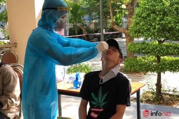 Đà Nẵng lấy mẫu xét nghiệm 11.000 thí sinh thi tốt nghiệp THPT đợt 2