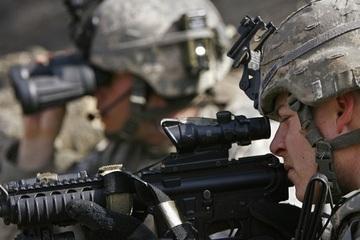 Mỹ và Estonia tiến hành tập trận chung gần biên giới Nga