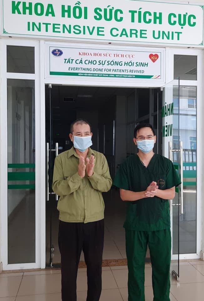 Bệnh nhân 812 nặng nhất đã được ra viện
