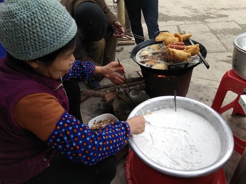Mùa thu lên Cao Bằng ăn bánh áp chao
