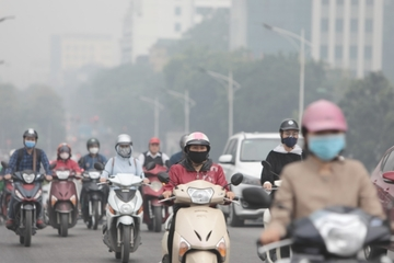 Hà Nội tái ô nhiễm không khí, cẩn trọng khi ra đường
