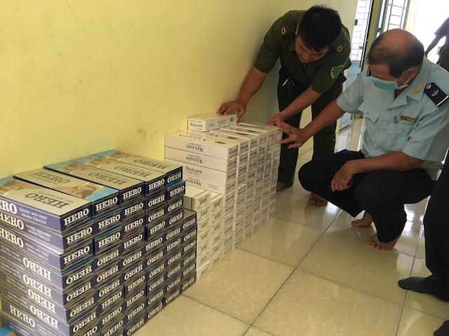 Đồng Tháp bắt giữ hơn 4.000 bao thuốc lá điếu nhập lậu