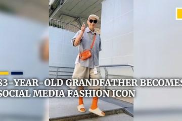 Phong cách thời trang 'ăn đứt' giới trẻ của cụ ông 83 tuổi