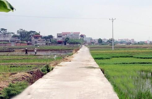 Bắc Giang,Lục Ngạn,xây dựng nông thôn mới,nông thôn mới