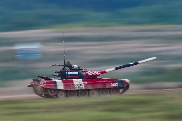 Chung kết bảng 1 Tank Biathlon 2020: Đội xe tăng Nga giành chiến thắng sát nút