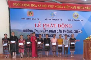 Phát động hưởng ứng 'Ngày toàn dân phòng, chống mua bán người' tại huyện biên giới Quảng Trị