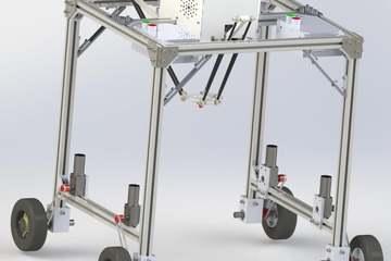 Sinh viên Đại học Bách khoa chế tạo thành công robot chọn gốc cỏ để xịt thuốc