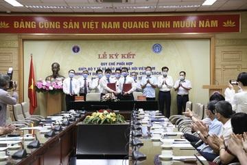 BHXH Việt Nam và Bộ Y tế phối hợp xây dựng, tổ chức thực hiện chính sách, pháp luật BHYT