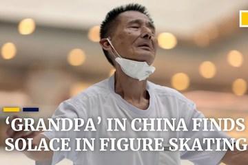 Trượt băng nghệ thuật giúp cụ ông 75 tuổi quên đi đau buồn