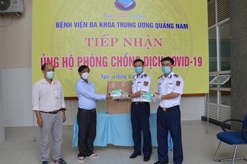 Bộ Tư lệnh Vùng Cảnh sát biển 2 chung tay chống dịch Covid – 19