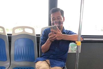 Công ty xe buýt đề nghị công an xử lý người đàn ông 'phun nước bọt' vào nữ phụ xe