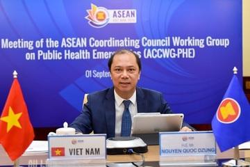 Thứ trưởng Nguyễn Quốc Dũng tham dự các cuộc họp ACCWG-PHE và ASCCO