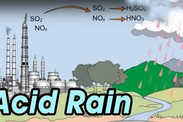 Giải đáp môn Hóa học: Mưa axit gồm các chất độc hại gì?