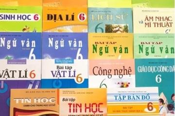 """Bộ SGK lớp 6 khan hiếm bị """"cò"""" hét giá 900 nghìn đồng: NXB Giáo dục Việt Nam nói gì?"""