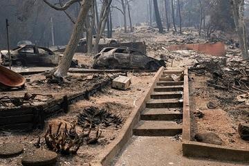 Gần 100 vụ cháy lớn hoành hành khắp ba bang của Mỹ