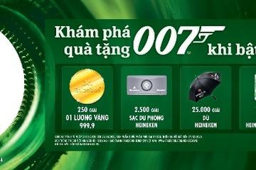 """Triệu quà tặng hấp dẫn cùng trải nghiệm thế giới """"mật vụ"""" với Heineken James Bond"""