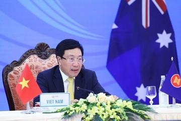 Bộ trưởng Ngoại giao các nước ASEAN họp với Australia