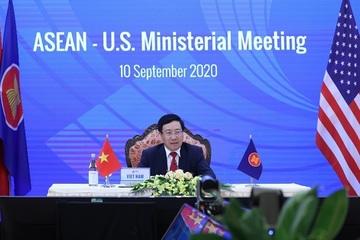 Bộ trưởng Ngoại giao các nước ASEAN họp với Hoa Kỳ