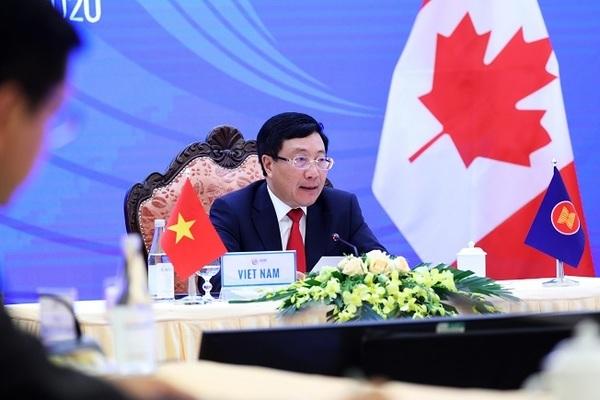 Hội nghị Bộ trưởng Ngoại giao ASEAN – Canada