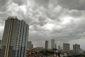 Cảnh báo mưa dông, lốc, sét, gió giật mạnh ở Bắc Bộ và Thanh Hóa