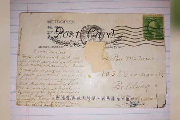 Choáng vì nhận được bức thư cổ gửi từ 100 năm trước