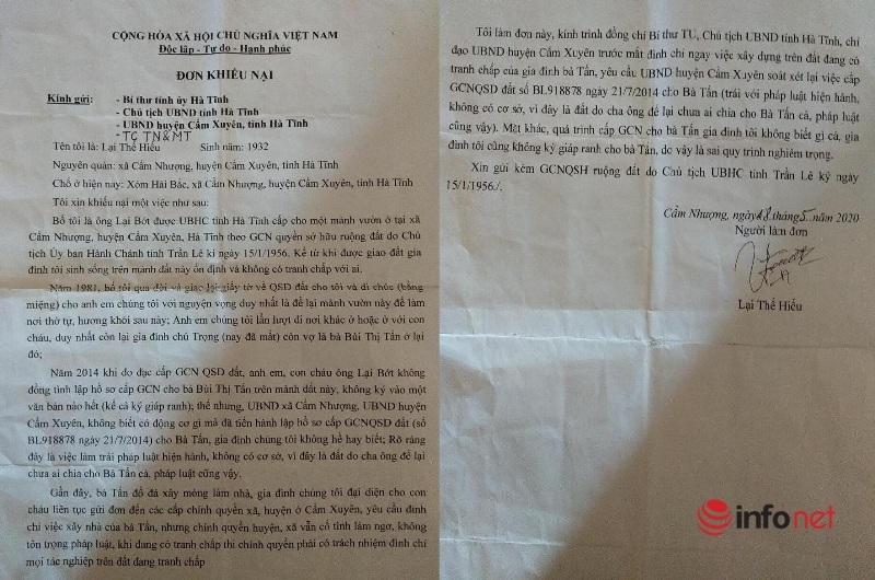Kỳ lạ Hà Tĩnh: Người chết 30 năm vẫn về họp, ký xác nhận đất đai!