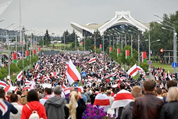 Công ty Mỹ bị nghi tham gia chặn các trang web ở Belarus