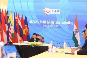 Bộ trưởng Ngoại giao các nước ASEAN họp với Ấn Độ