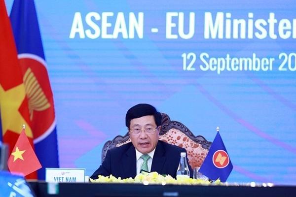 Bộ trưởng Ngoại giao các nước ASEAN họp với Liên minh châu Âu