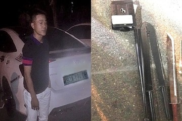 Tài xế gây tai nạn 'lộ hàng nóng' trong xe khi bị 'tóm' ở quán karaoke