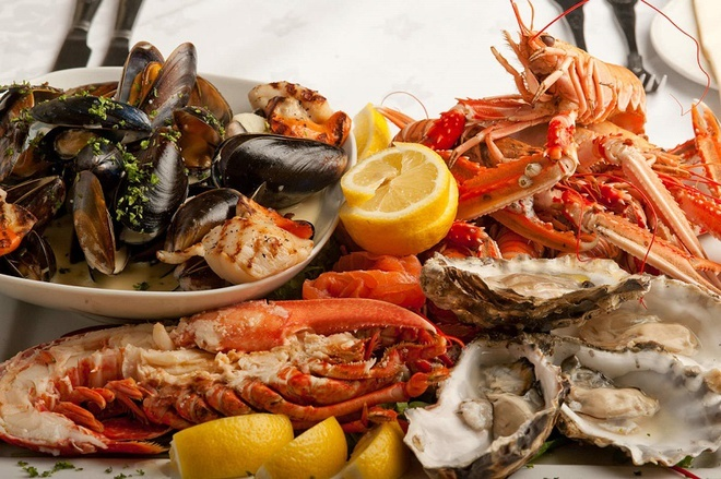 hải sản,ngộ độc do ăn ốc