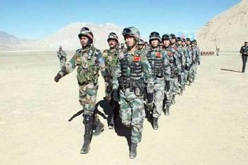 Binh sĩ Trung - Ấn tiếp tục nổ súng ở biên giới tranh chấp
